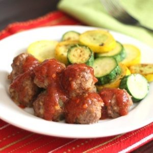 Spicy Stuffed Bell Pepper Meatballs