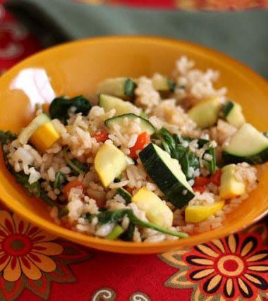 Zucchini Fried Rice