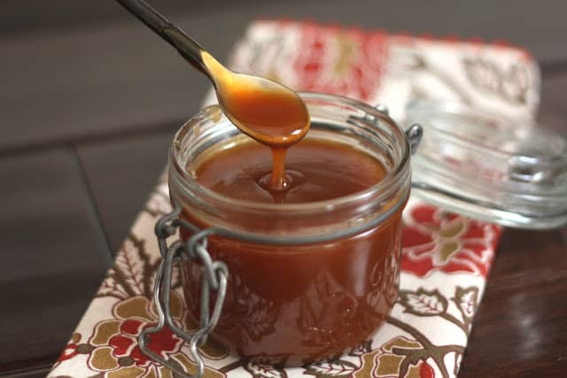 Homemade Caramel Sauce recipe by Barefeet In The Kitchen