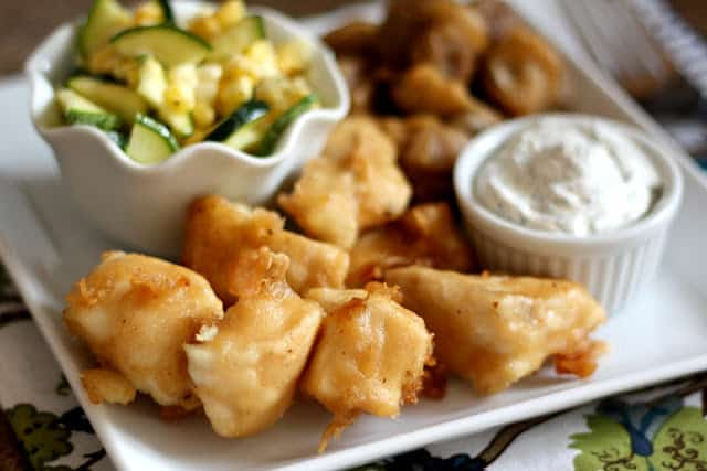 Beer Battered Halibut recipe by Barefeet In The Kitchen