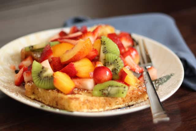 Fruity French Toast recipe by Barefeet In The Kitchen