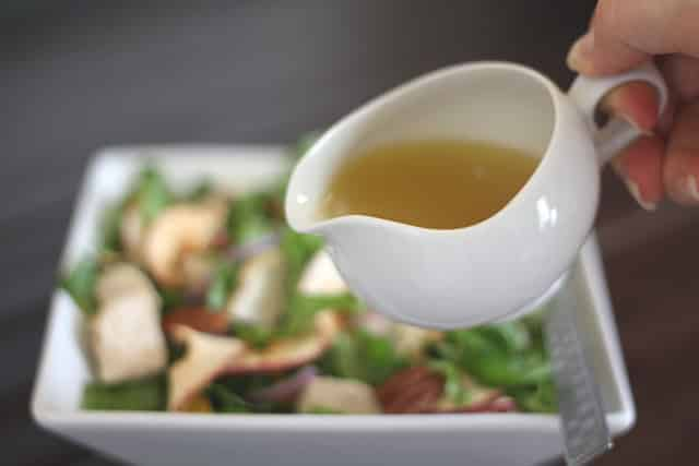 Honey Apple Vinaigrette recipe by Barefeet In The Kitchen