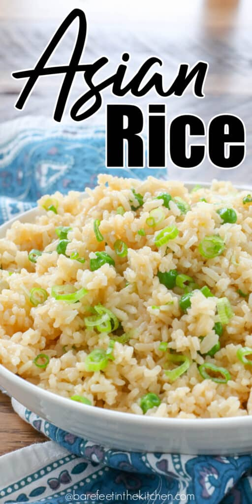 Asian Rice is the side dish all of your stir fries need!