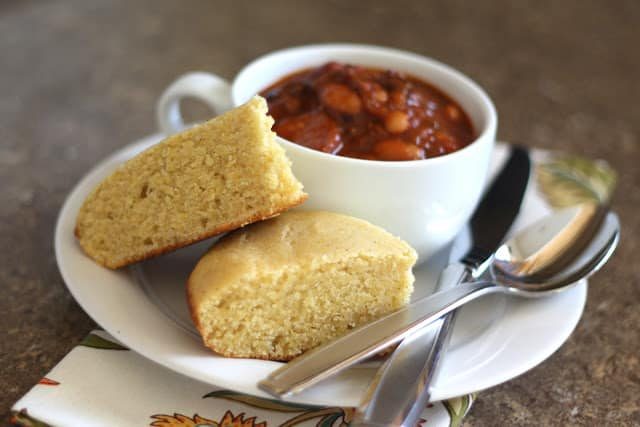 Homesteader Cornbread - Gluten Free or Not recipe by Barefeet In The Kitchen