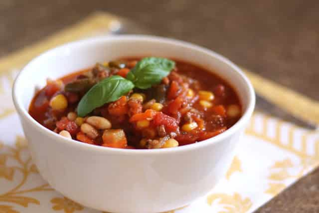 Hearty Italian Beef and Vegetable Stew recipe by Barefeet In The Kitchen