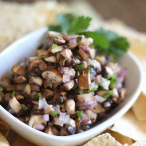 Mushroom Jalapeno Salsa