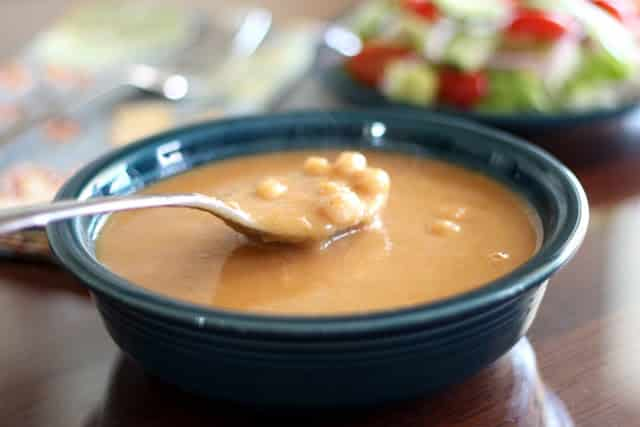 White Bean and Ham Soup - On the Stove or In the Crockpot recipe by Barefeet In The Kitchen