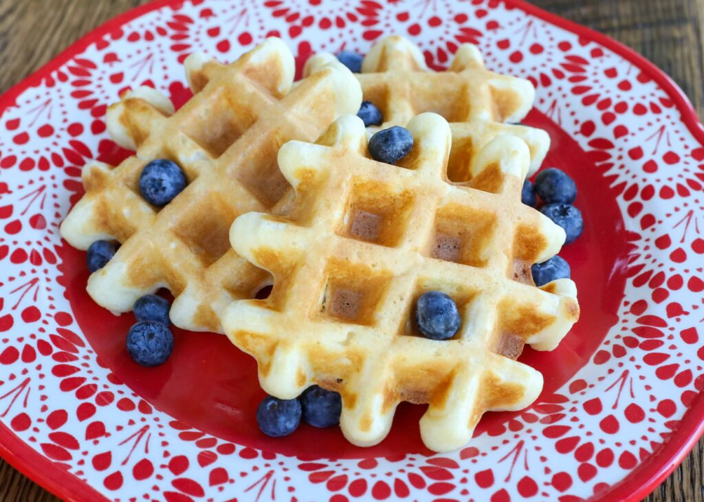 Buttermilk Waffles - traditional and gluten free recipes