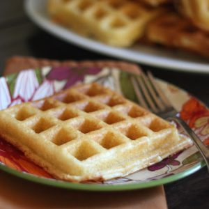 Light and Fluffy Buttermilk Waffles – Gluten Free