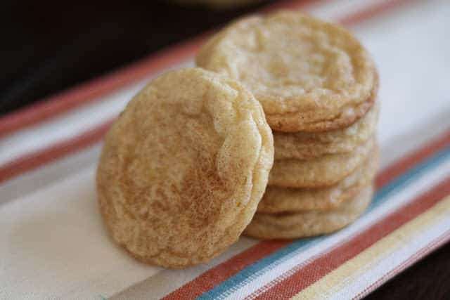 Cinnamon Crinkle Cookies - Gluten Free or Not recipe by Barefeet In The Kitchen