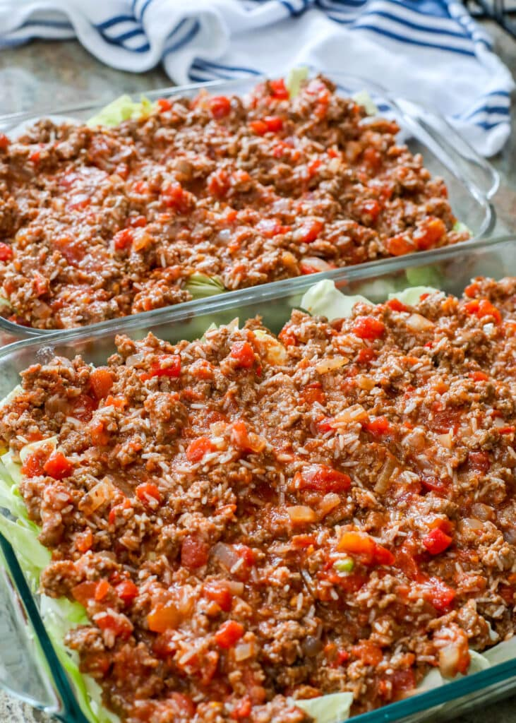 Layered Cabbage Rolls are a favorite here!
