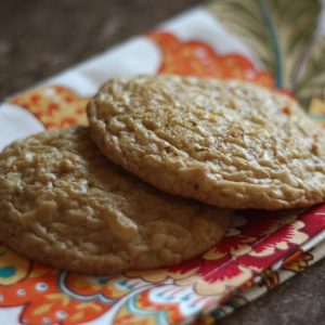 Ginger Spice Carrot Cake Cookies