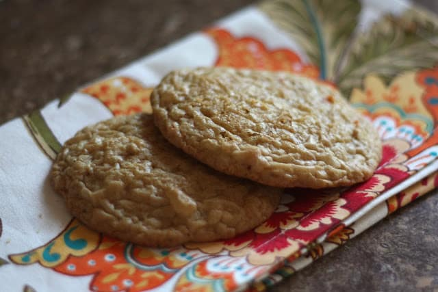 Ginger Spice Carrot Cake Cookies recipe by Barefeet In The Kitchen