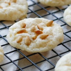 Pignoli Cookies {a.k.a. Pine Nut or Pinon Cookies}