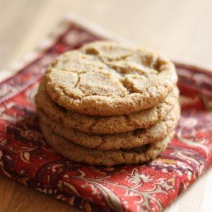 Hot Buttered Rum Cookies
