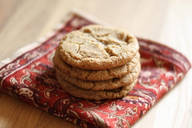 Hot Buttered Rum Cookies recipe by Barefeet In The Kitchen