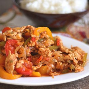 Crock-Pot Chicken Fajitas