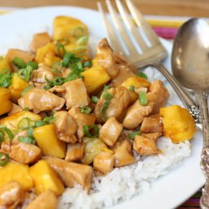 Teriyaki Chicken with Pineapple