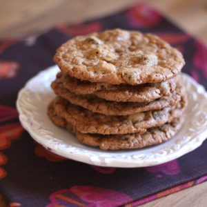 Toasted Coconut, Toffee and Chocolate Chip Cookies – Gluten Free or Not