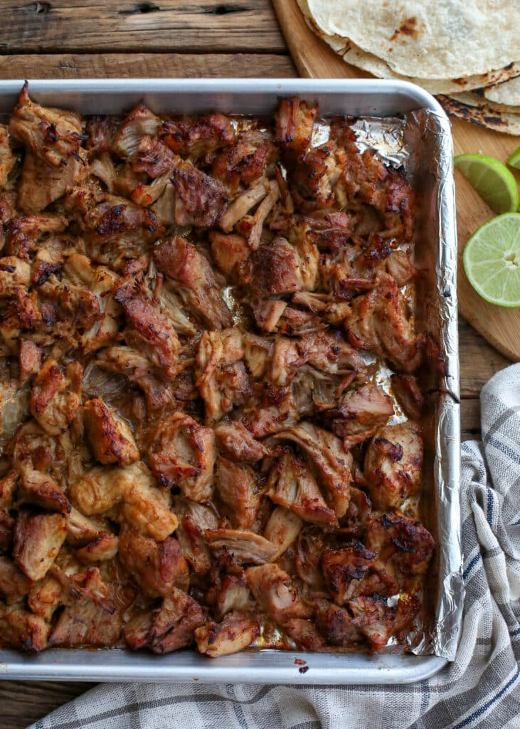 Best Ever Pork Carnitas - ready to eat - get the recipe at barefeetinthekitchen.com