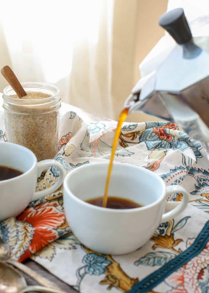 Espresso for Cafe con Leche