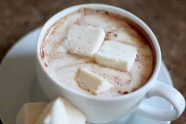 Simple Homemade Hot Chocolate recipe by Barefeet In The Kitchen