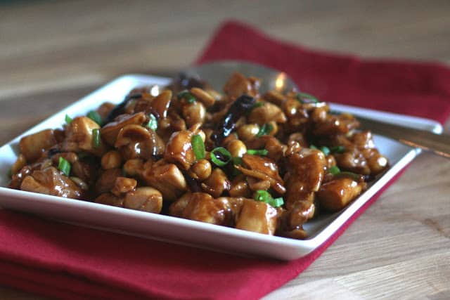 Kung Pao Chicken recipe by Barefeet In The Kitchen