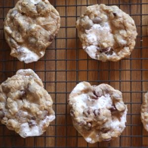Marshmallow Chocolate Chip Marry Me Cookies