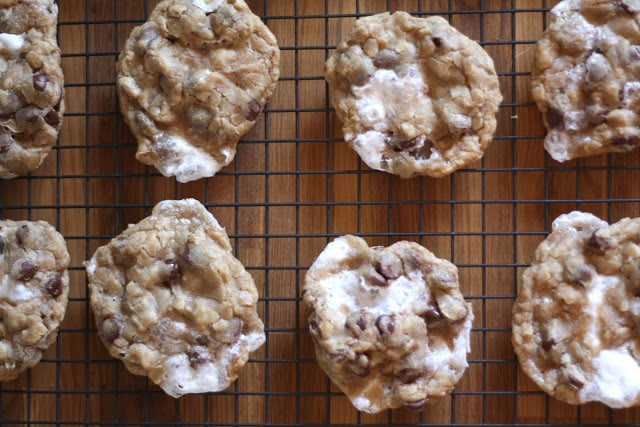 Marshmallow Chocolate Chip Marry Me Cookies recipe by Barefeet In The Kitchen