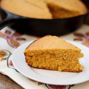 Roasted Sweet Potato and Spice Cornbread {traditional and gluten free recipes}