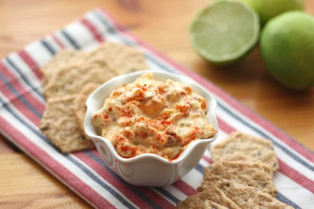 Chipotle and Lime Egg Salad (a.k.a Deviled Egg Dip) recipe by Barefeet In The Kitchen