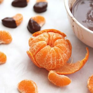 Homemade Magic Shell (& Chocolate Covered Clementines!)
