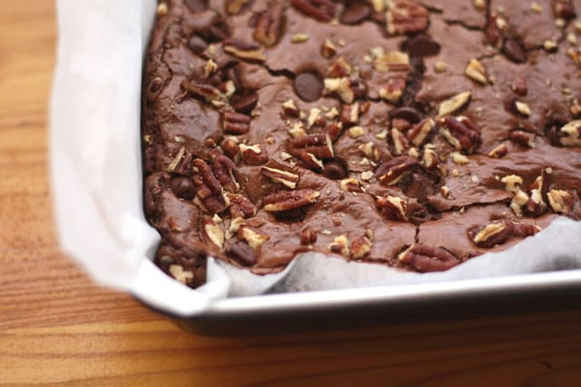 Rich Dark Chocolate Brownies - Gluten and Casein Free recipe by Barefeet In The Kitchen