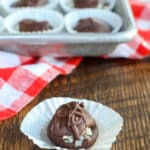 Making Almond Joys at home is easier than you might think! find out how at barefeetinthekitchen.com