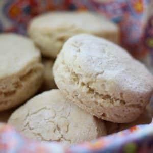 Tender Fluffy Gluten Free Buttermilk Biscuits