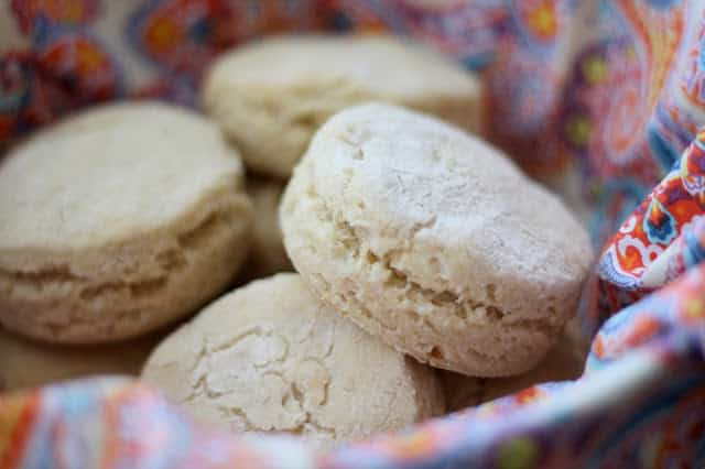 Tender Fluffy Gluten Free Buttermilk Biscuits recipe by Barefeet In The Kitchen