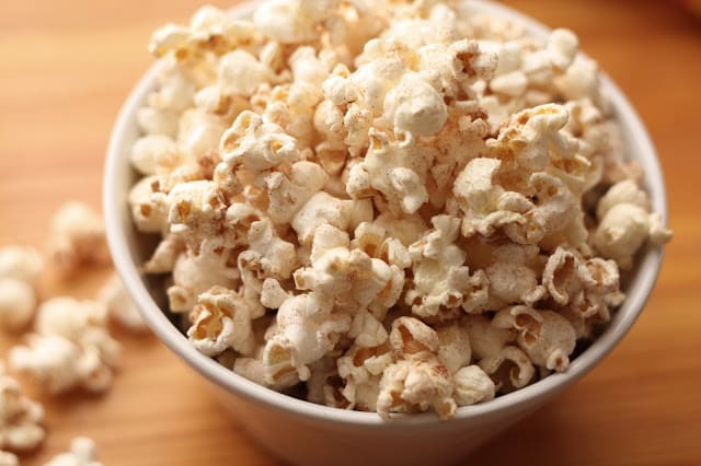 Homemade Popcorn ~ Savory or Sweet recipe by Barefeet In The Kitchen