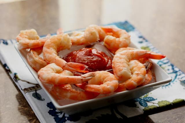 The BEST Shrimp Cocktail recipe by Barefeet In The Kitchen