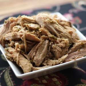 Crock-Pot Green Chile Pulled Pork