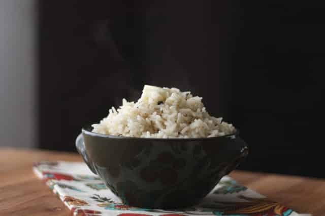 Italian Herb Rice recipe by Barefeet In The Kitchen