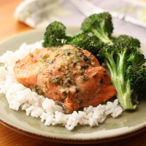 Mojo Marinated Salmon