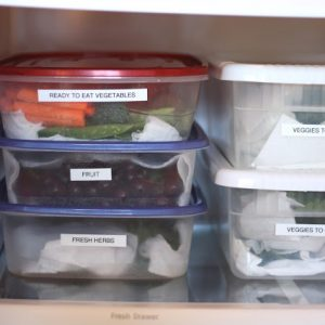 Kitchen Tips: Produce Boxes ~ Organizing Your Refrigerator