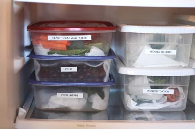 Kitchen Tips Produce Boxes Organizing Your Refrigerator