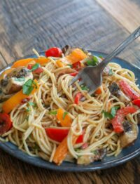 Chipotle Pasta with Vegetables