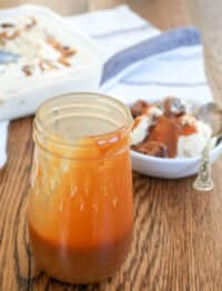 Salted Caramel Sauce is a staple