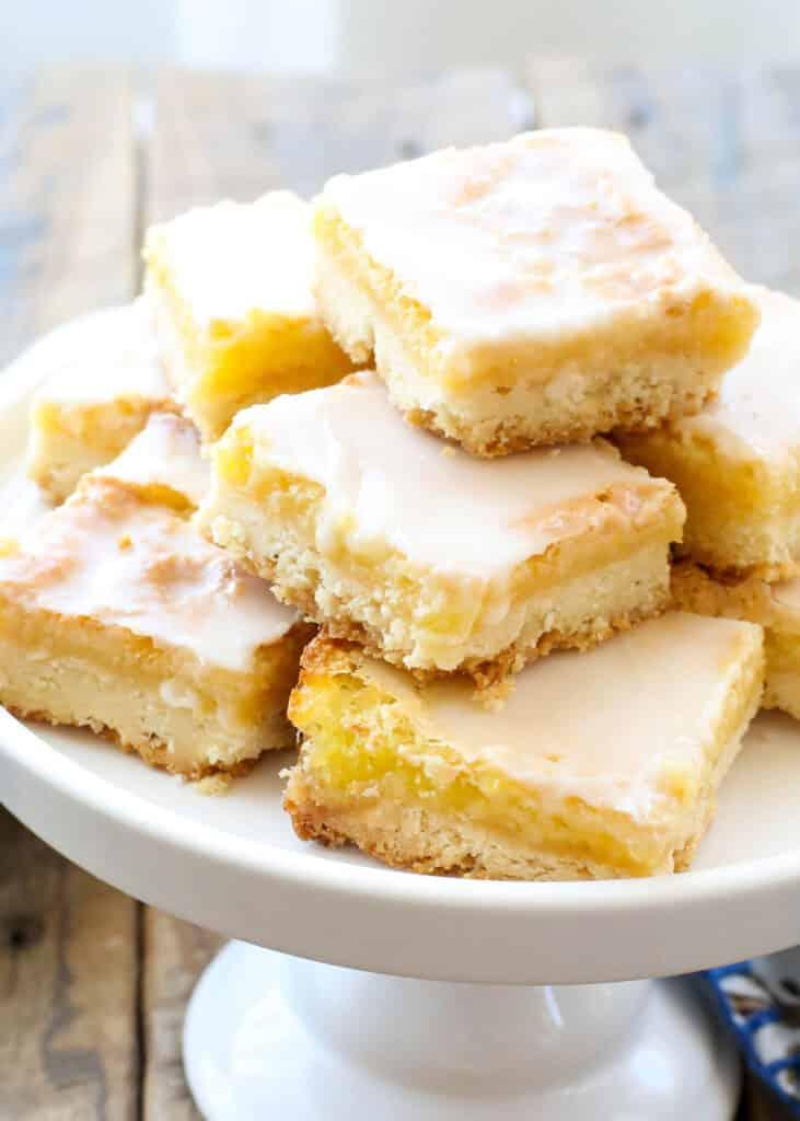 Sunburst Lemon Bars are truly like no other! get the recipe at barefeetinthekitchen.com