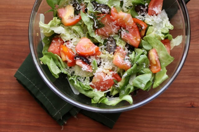 Champagne Tomato Salads recipe by Barefeet In The Kitchen
