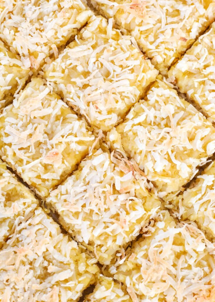 Pineapple Coconut Bars have been a favorite for years