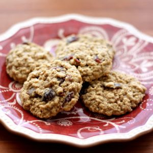 Orange Spice Oatmeal Cookies {traditional and gluten free recipes}