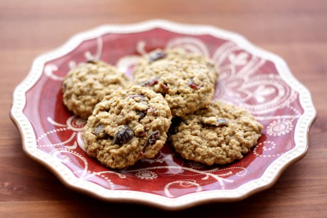 Orange Spice Oatmeal Cookies ~ Gluten Free or Not recipe by Barefeet In The Kitchen